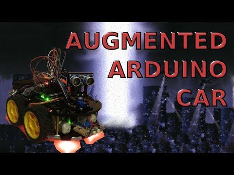 Augmented Arduino Car