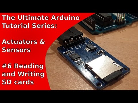 How to read and write SD cards with the Arduino Uno | UATS A&S #6