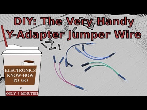 DIY: Y-shaped Jumper Wire | Electronics Know-how To Go #5