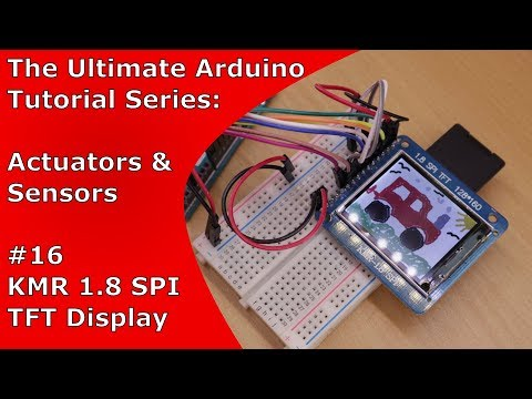 Arduino TFT Display + SD card reader (KMR 1.8 SPI) | UATS A&S #16