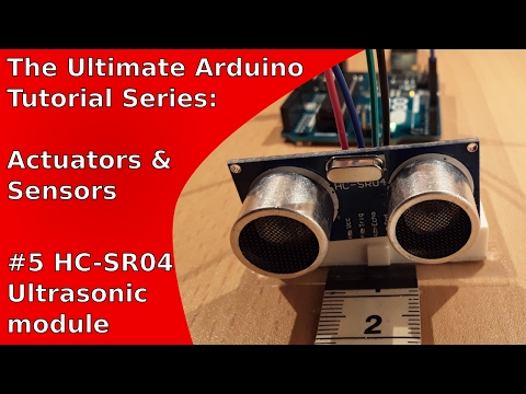 How to use the HC-SR04 ultrasonic module with the Arduino Uno | UATS A&S #5