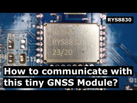 GNSS Receiver Module Tutorial: How to work with Reyax's RYS8830 Module?