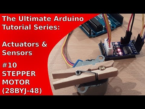 Tutorial: How to use a stepper motor (28BY-J48) with an Arduino and a ULN2003A board | UATS A&S #10