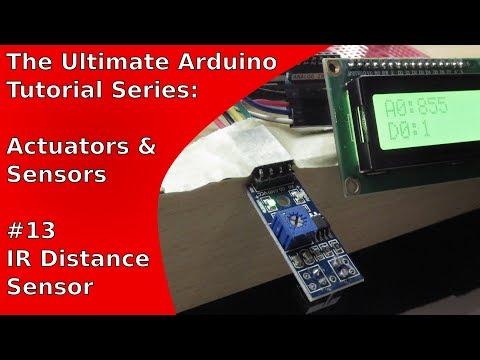 Tutorial: MH Sensor Series/KY-033/TCRT5000 + LCM1602 IIC V1 | UATS A&S #13