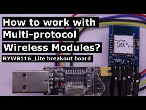 How to work with Multi-protocol Wireless Modules? (RYWB116_Lite, HTerm)