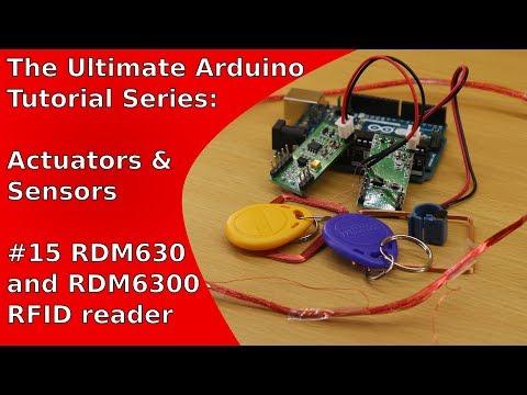 RFID Readers RDM6300 and RDM630 (Arduino-Tutorial) | UATS A&S #15