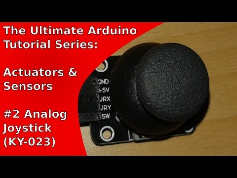 How to use the analog joystick KY-023 with the Arduino Uno | UATS A&S #2