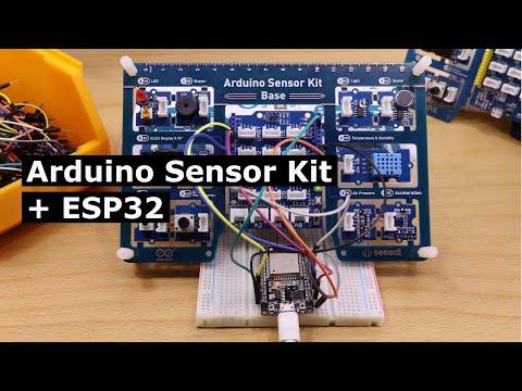 Arduino Sensor Kit—How to make it work with an ESP32!
