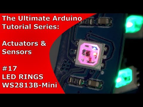 WS2812B and WS2813B-Mini Comparison + LED Ring Tutorial | UATS A&S #17