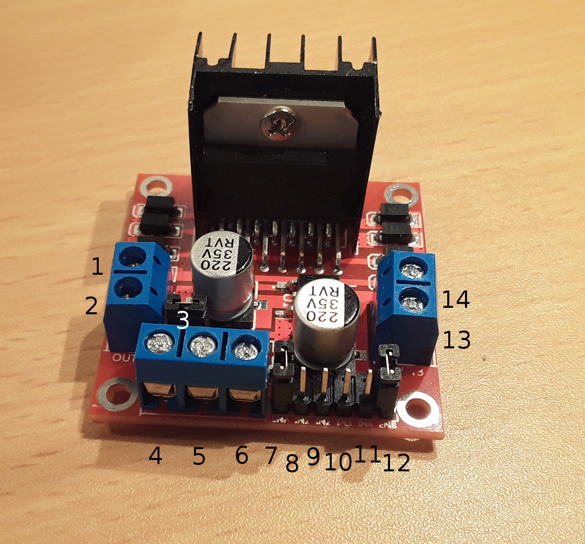 How to control a DC motor with the Arduino Uno and the L298N