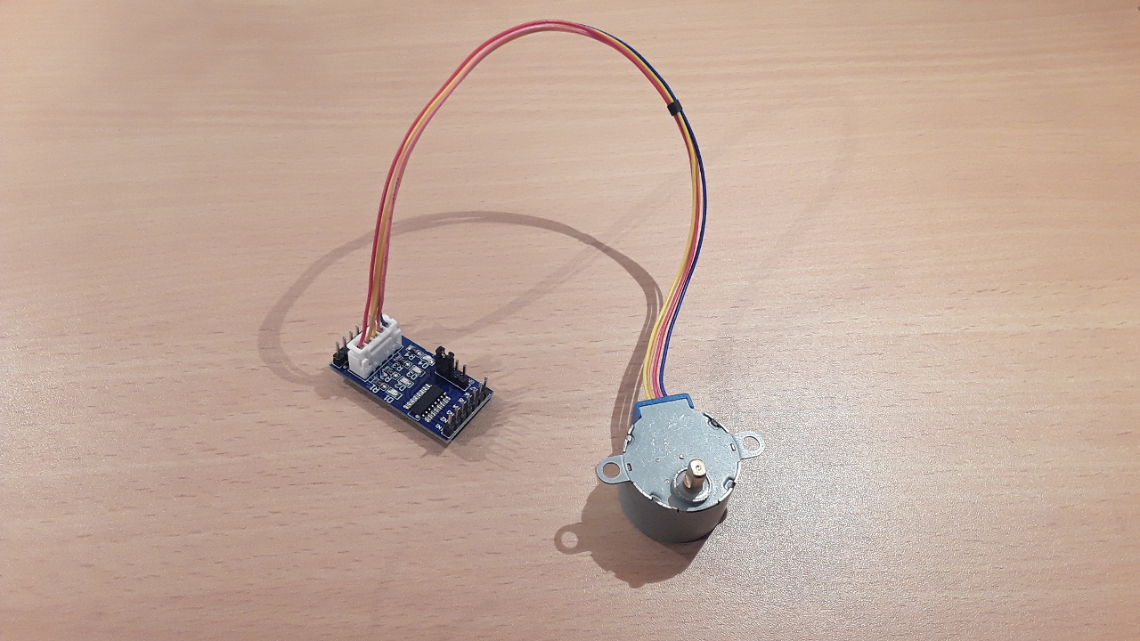 Tutorial: How to drive the 28BYJ-48 stepper motor with a