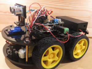 Arduino car before adding the augmentations