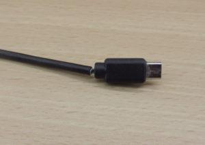 Broken Micro USB plug.
