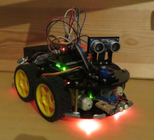 Final Augmented Arduino Car.