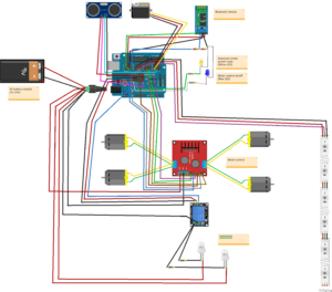 Fritzing file of the Augmented Arduino Car.