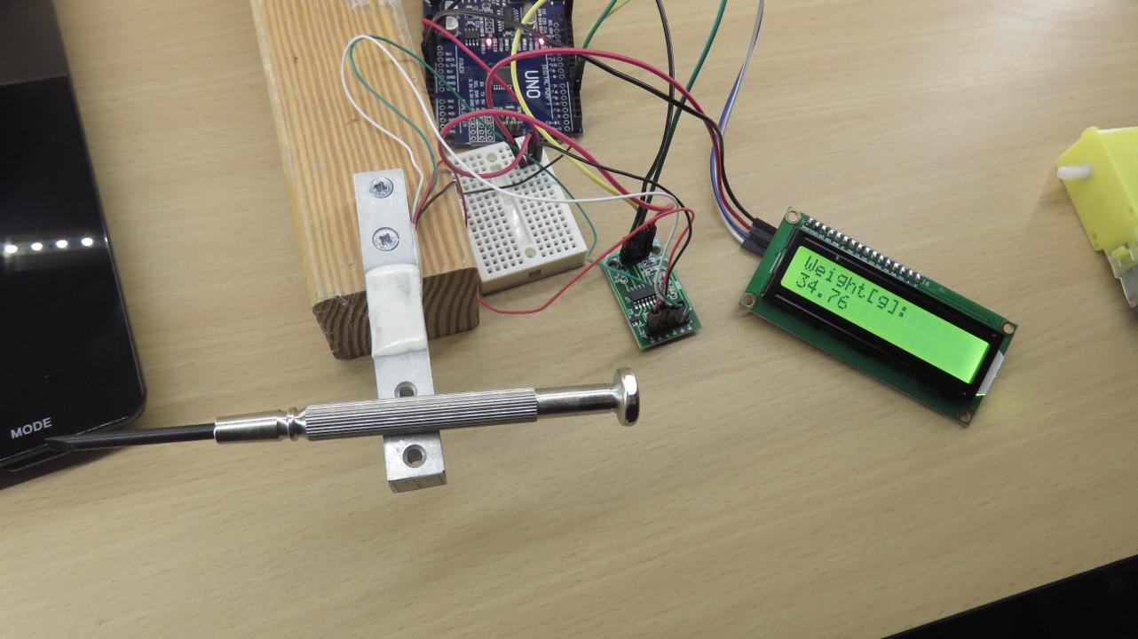 Arduino tutorial hx load cell amplifier weight sensor