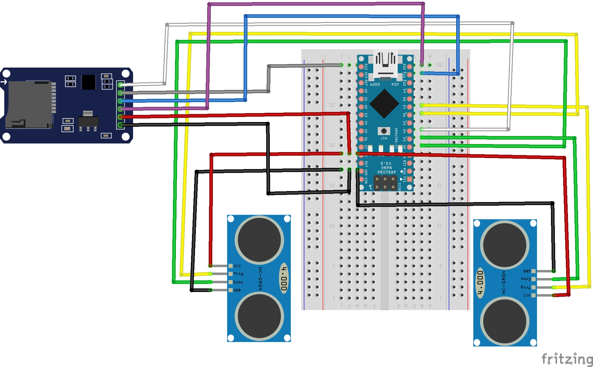 Arduino motor shield external power